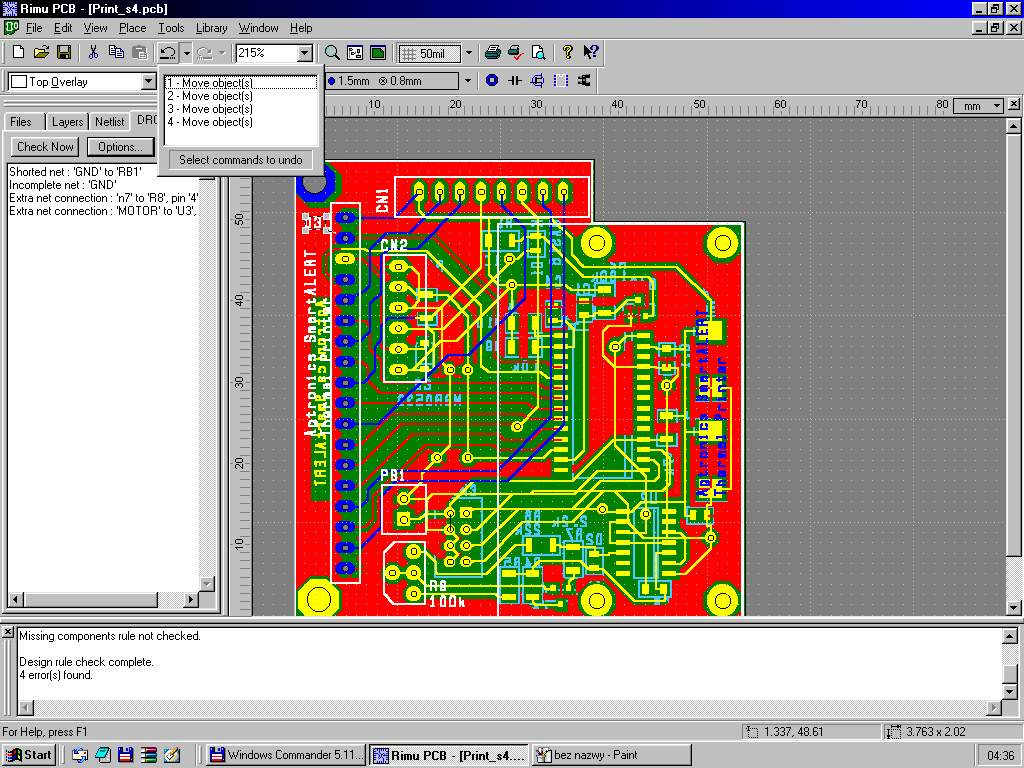Rimu Pcb Best Free Design Software39s Printed Circuit Board Software