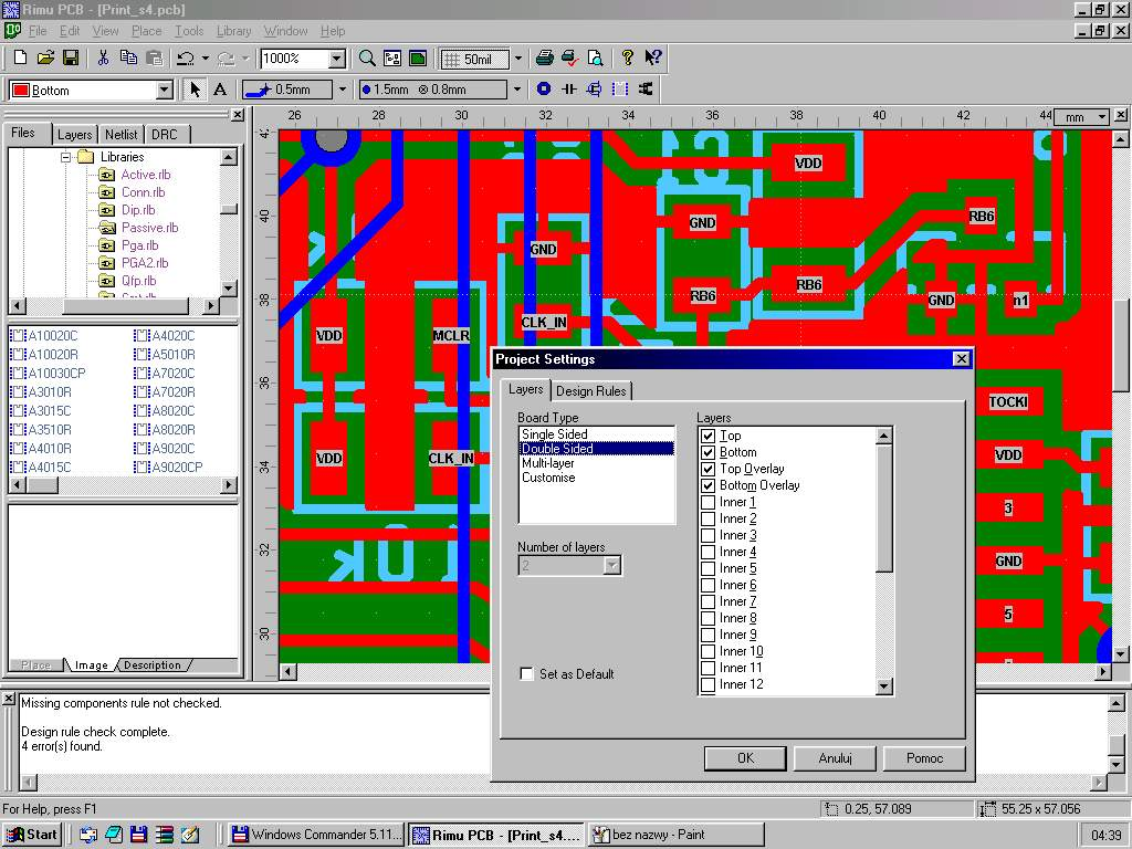 Rimu Pcb Best Free Design Software39s Printed Circuit Board Software